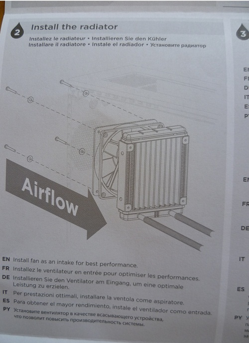 CWCH50-1 Radiator Airflow